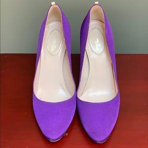 SJP by Sarah Jessica Parker Shoes - SJP grosgrain Lady pumps